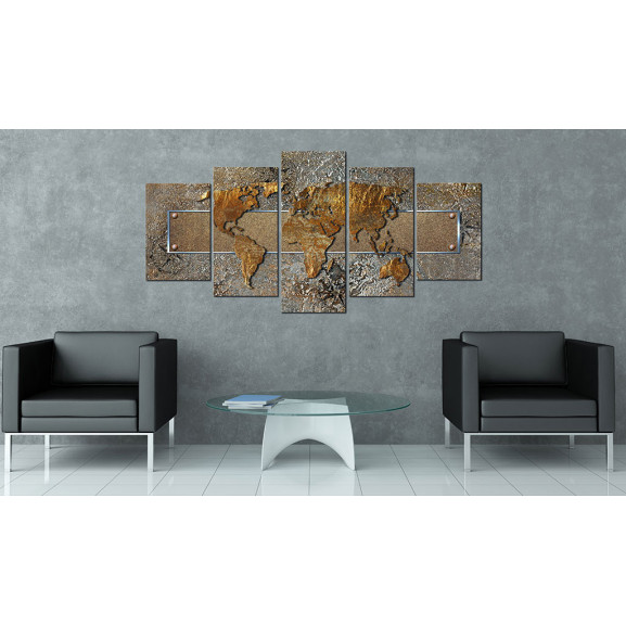 Tablou Extraordinary World 100 cm x 50 cm naturlich.ro