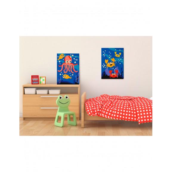 Pictatul Pentru Recreere Ocean Animals 33 cm x 23 cm naturlich.ro