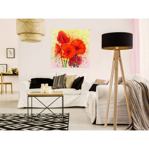 Pictatul Pentru Recreere Poppies (Modern) 60 cm x 60 cm naturlich.ro