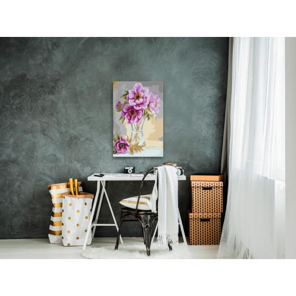 Pictatul Pentru Recreere Flowers In A Vase 40 cm x 60 cm naturlich.ro