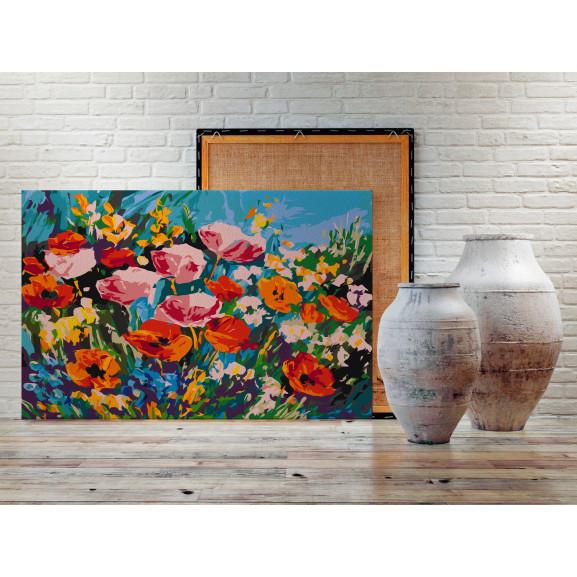 Pictatul Pentru Recreere Colourful Meadow Flowers 60 cm x 40 cm naturlich.ro