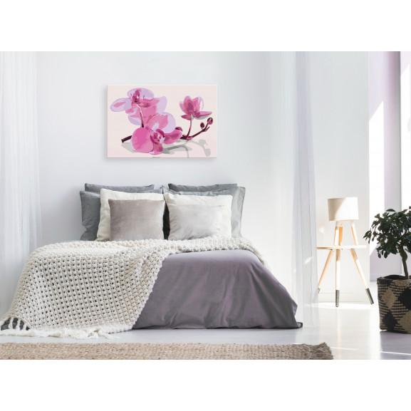 Pictatul Pentru Recreere Orchid Flowers 60 cm x 40 cm naturlich.ro