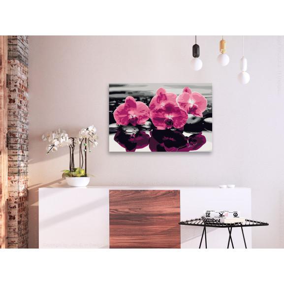 Pictatul Pentru Recreere Three Orchids 60 cm x 40 cm naturlich.ro