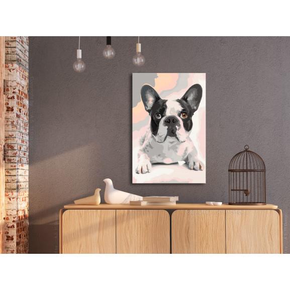 Pictatul Pentru Recreere French Bulldog 40 cm x 60 cm naturlich.ro