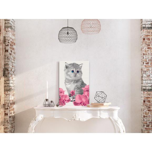 Pictatul Pentru Recreere Kitty Cat 40 cm x 60 cm naturlich.ro