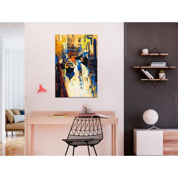 Pictatul Pentru Recreere Venice (Gondolas) 40 cm x 60 cm naturlich.ro