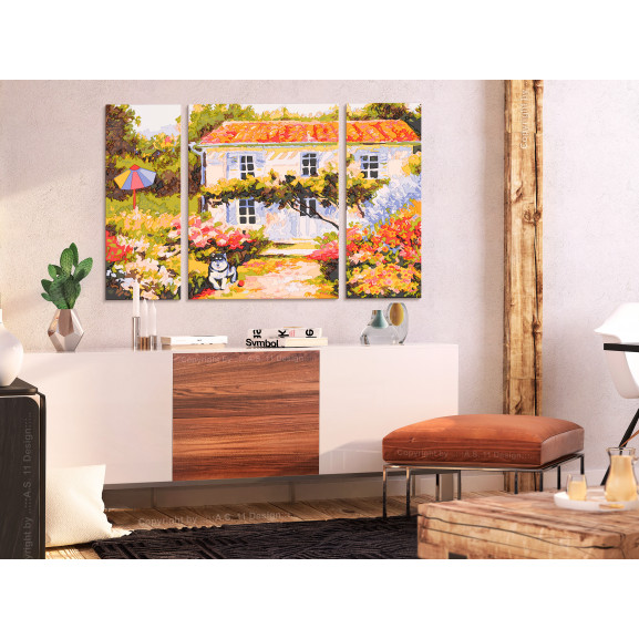Pictatul Pentru Recreere Country House 80 cm x 50 cm naturlich.ro