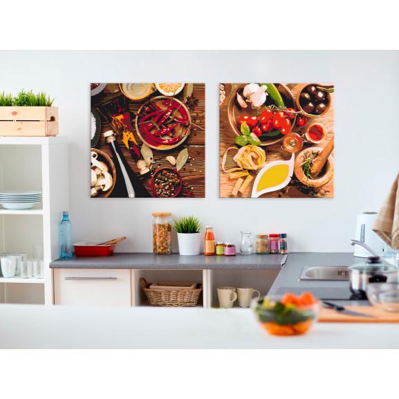 Pictatul Pentru Recreere Colourful Spices 80 cm x 40 cm naturlich.ro