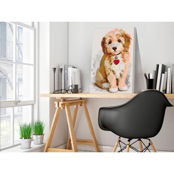 Pictatul Pentru Recreere Dog (Puppy) 40 cm x 60 cm naturlich.ro