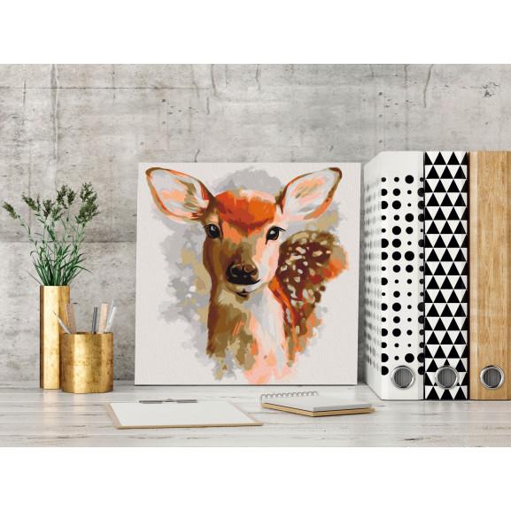 Pictatul Pentru Recreere Charming Fawn 40 cm x 40 cm naturlich.ro