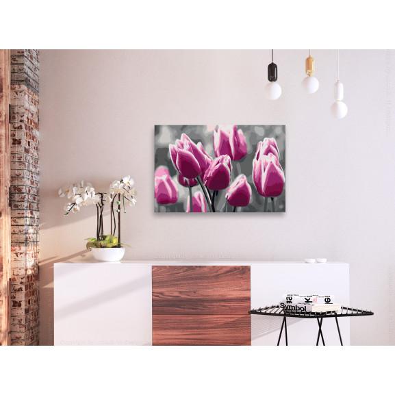 Pictatul Pentru Recreere Tulip Field 60 cm x 40 cm naturlich.ro