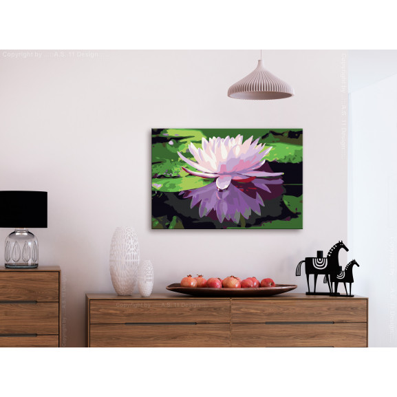 Pictatul Pentru Recreere Water Lily 60 cm x 40 cm naturlich.ro