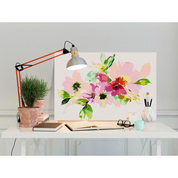 Pictatul Pentru Recreere Colourful Flowers 60 cm x 40 cm naturlich.ro