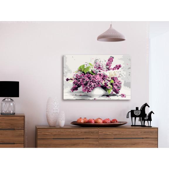 Pictatul Pentru Recreere Vase And Flowers 60 cm x 40 cm naturlich.ro