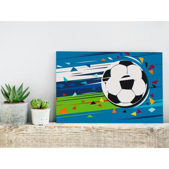 Pictatul Pentru Recreere Shoot And Goal! 60 cm x 40 cm naturlich.ro