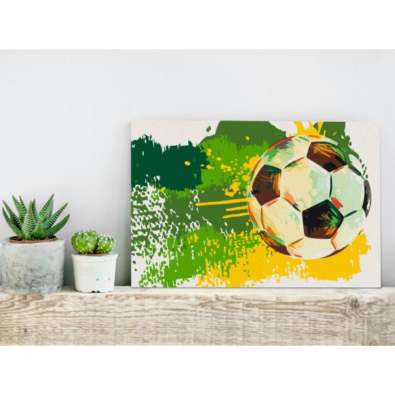 Pictatul Pentru Recreere Football Emotions 60 cm x 40 cm naturlich.ro