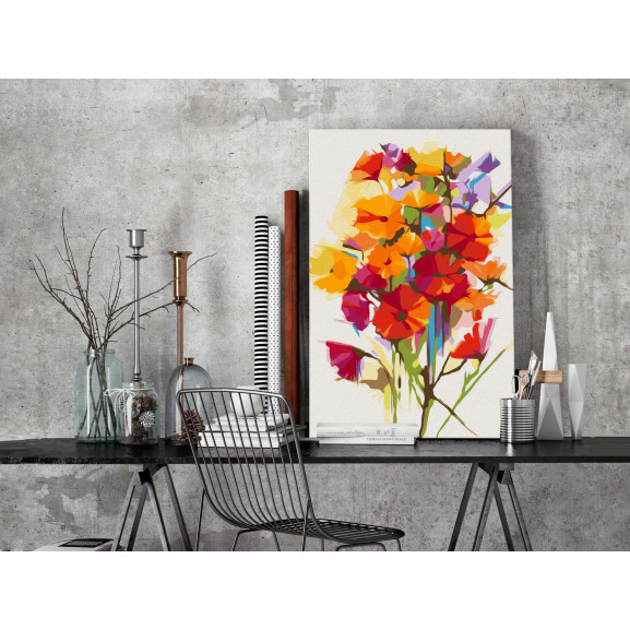 Pictatul Pentru Recreere Summer Flowers 40 cm x 60 cm naturlich.ro