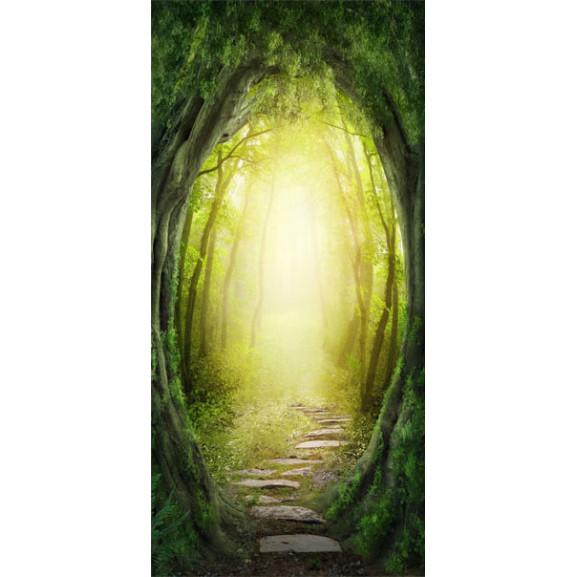 Fototapet Pentru Ușă The Forest Of Fantasy 100 cm x 210 cm naturlich.ro