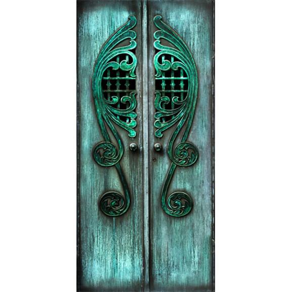 Fototapet Pentru Ușă Emerald Gates 100 cm x 210 cm naturlich.ro