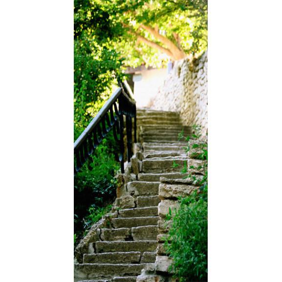 Fototapet Pentru Ușă Stony Stairs 100 cm x 210 cm naturlich.ro