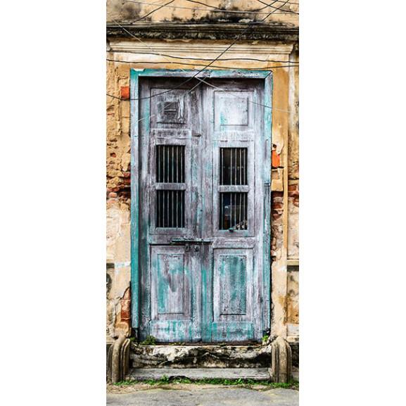 Fototapet Pentru Ușă Old Door 100 cm x 210 cm naturlich.ro