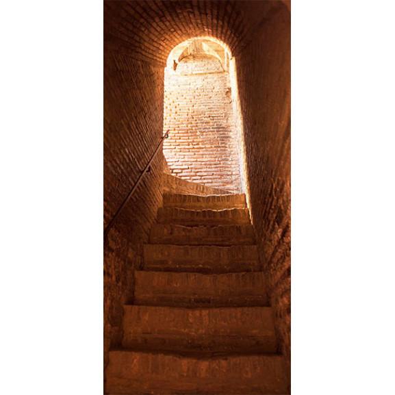 Fototapet Pentru Ușă Secret Stairs 100 cm x 210 cm naturlich.ro