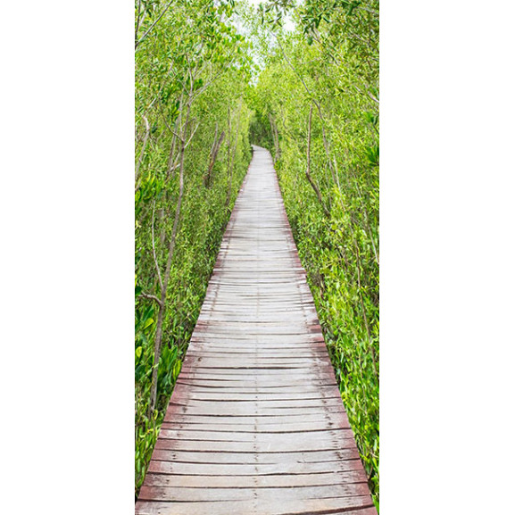 Fototapet Pentru Ușă The Path Of Nature 100 cm x 210 cm naturlich.ro