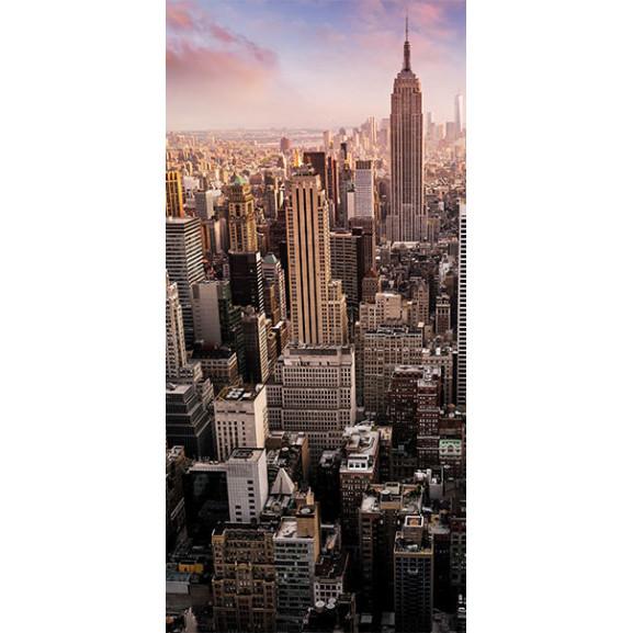 Fototapet Pentru Ușă Photo Wallpaper – New York I 100 cm x 210 cm naturlich.ro