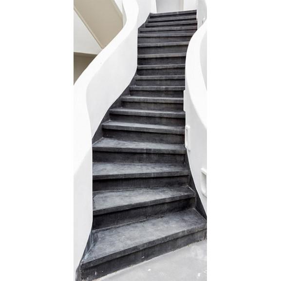 Fototapet Pentru Ușă Photo Wallpaper – Stairs I 100 cm x 210 cm naturlich.ro