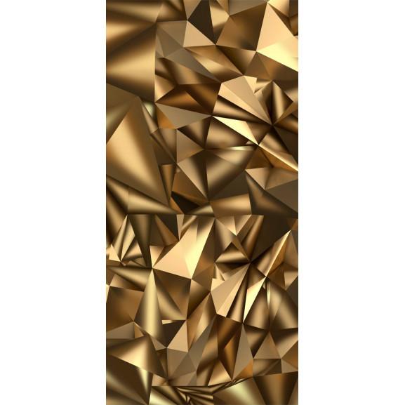Fototapet Pentru Ușă Photo Wallpaper Golden Geometry I 100 cm x 210 cm naturlich.ro