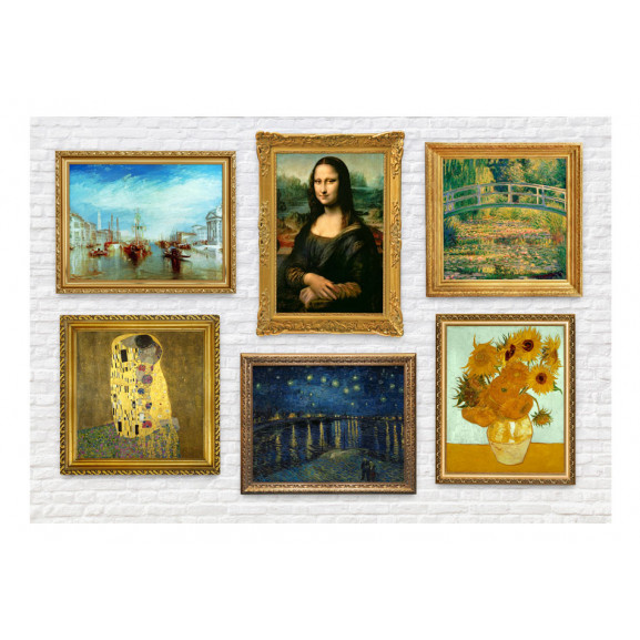 Fototapet Wall Of Treasures 100 cm x 70 cm naturlich.ro