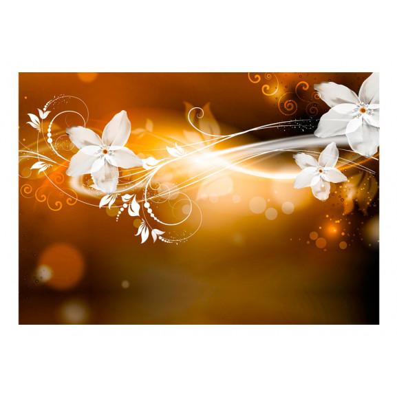 Fototapet Snow Flower 100 cm x 70 cm naturlich.ro