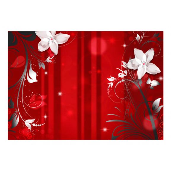Fototapet Flowering Scarlet 100 cm x 70 cm naturlich.ro