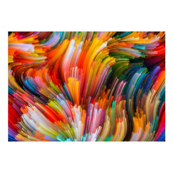 Fototapet Rainbow Waves 100 cm x 70 cm naturlich.ro