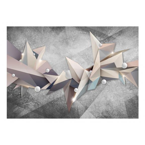 Fototapet Geometrical Constellation 100 cm x 70 cm naturlich.ro