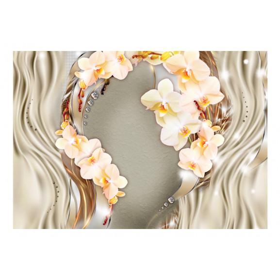 Fototapet Wreath Of Orchids 100 cm x 70 cm naturlich.ro