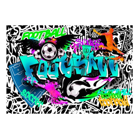 Fototapet Sports Graffiti 100 cm x 70 cm naturlich.ro