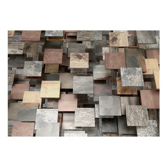 Fototapet Square Structure 100 cm x 70 cm naturlich.ro