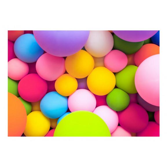 Fototapet Colourful Balls 100 cm x 70 cm naturlich.ro