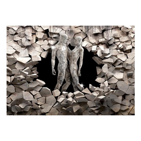 Fototapet Love Made Of Stone 100 cm x 70 cm naturlich.ro