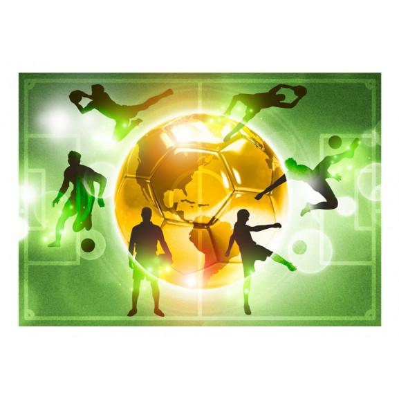 Fototapet Football Training 100 cm x 70 cm naturlich.ro