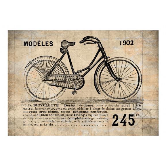 Fototapet Old School Bicycle 100 cm x 70 cm naturlich.ro