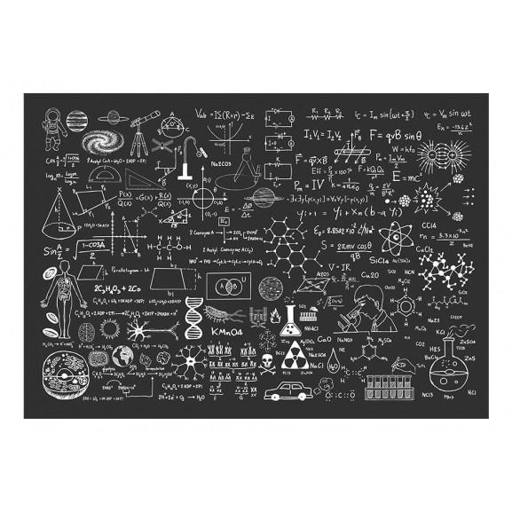Fototapet Science On Chalkboard 100 cm x 70 cm naturlich.ro