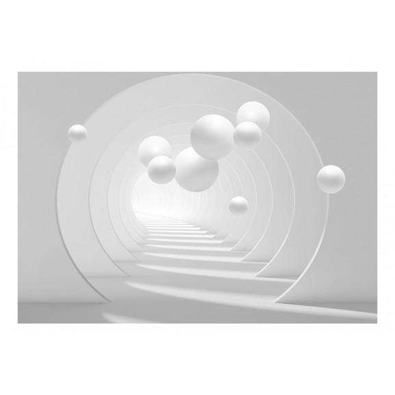 Fototapet 3D Tunnel 100 cm x 70 cm naturlich.ro