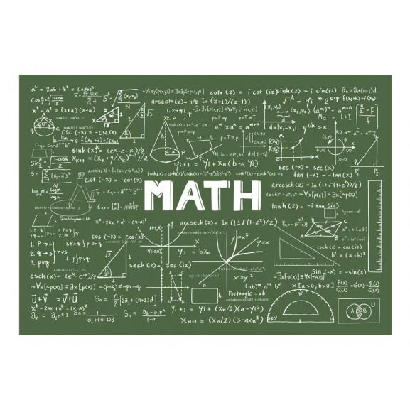 Fototapet Mathematical Formulas 100 cm x 70 cm naturlich.ro