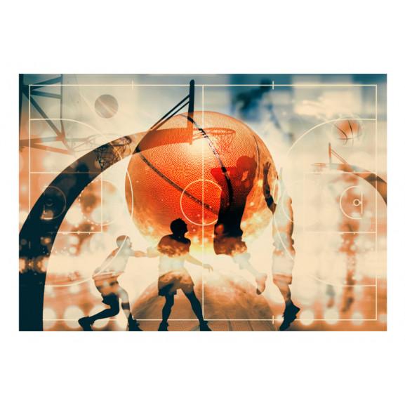 Fototapet I Love Basketball! 100 cm x 70 cm naturlich.ro