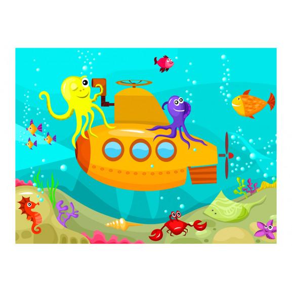 Fototapet Submarine 200 cm x 154 cm naturlich.ro