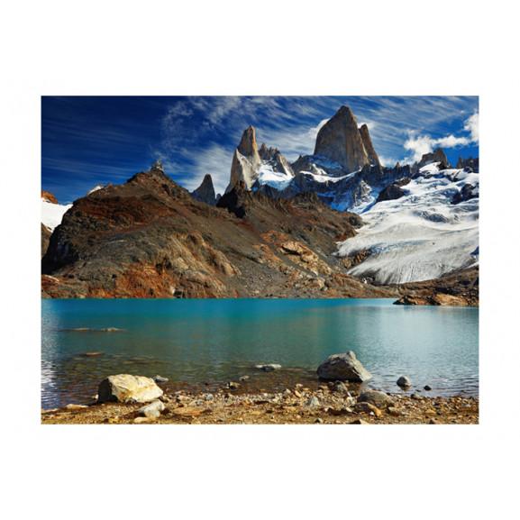 Fototapet Mount Fitz Roy, Patagonia, Argentina 200 cm x 154 cm naturlich.ro