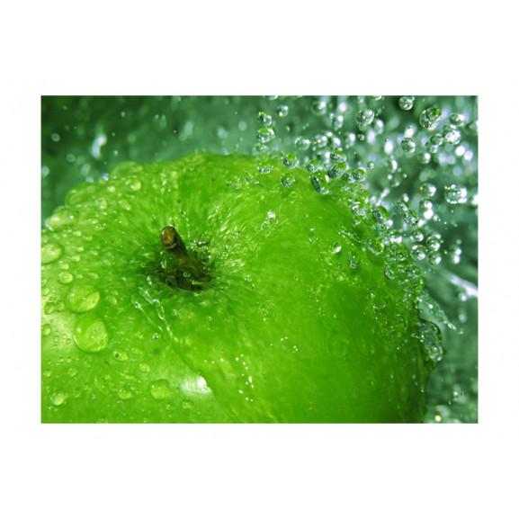 Fototapet Green Apple 200 cm x 154 cm naturlich.ro
