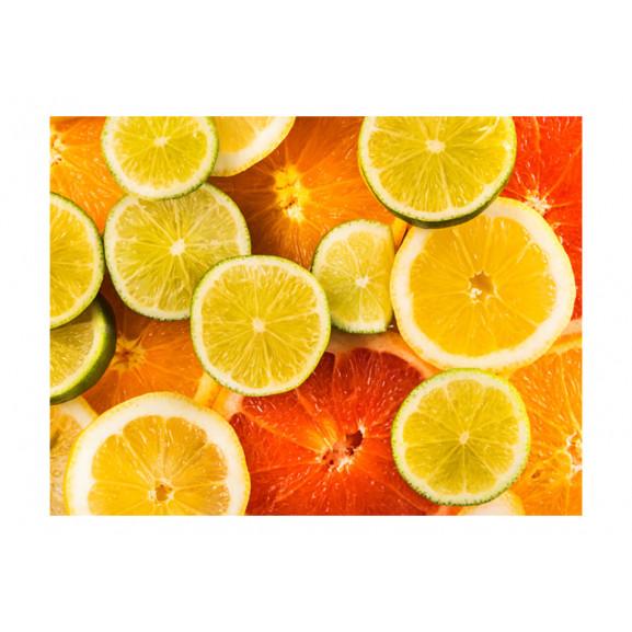 Fototapet Citrus Fruits 200 cm x 154 cm naturlich.ro